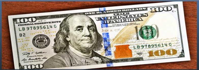 Куда вложить 100 долларов