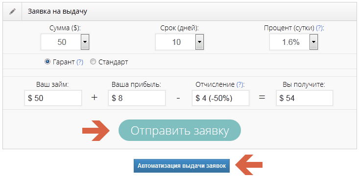 webtransfer finance заявка