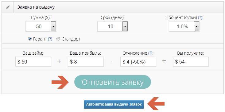 webtransfer finance заявка