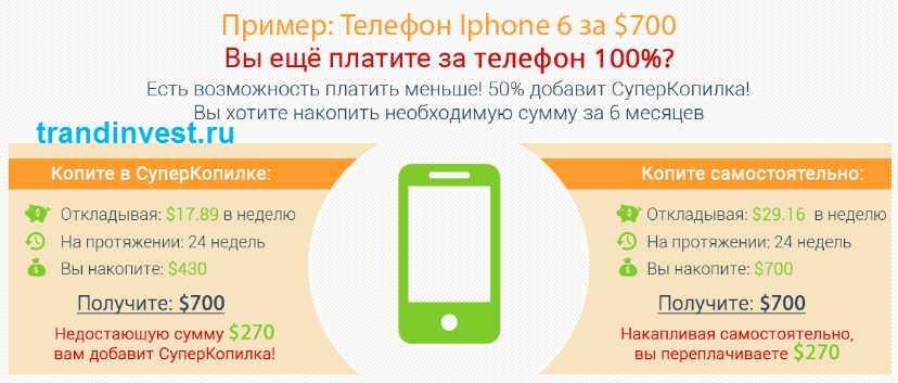 супер копилка iphone