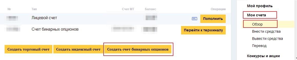 Бинарные опционы privatefx