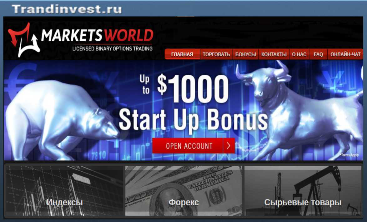 Marketsworld отзывы