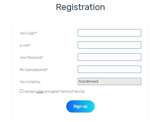 Cryptomain регистрация