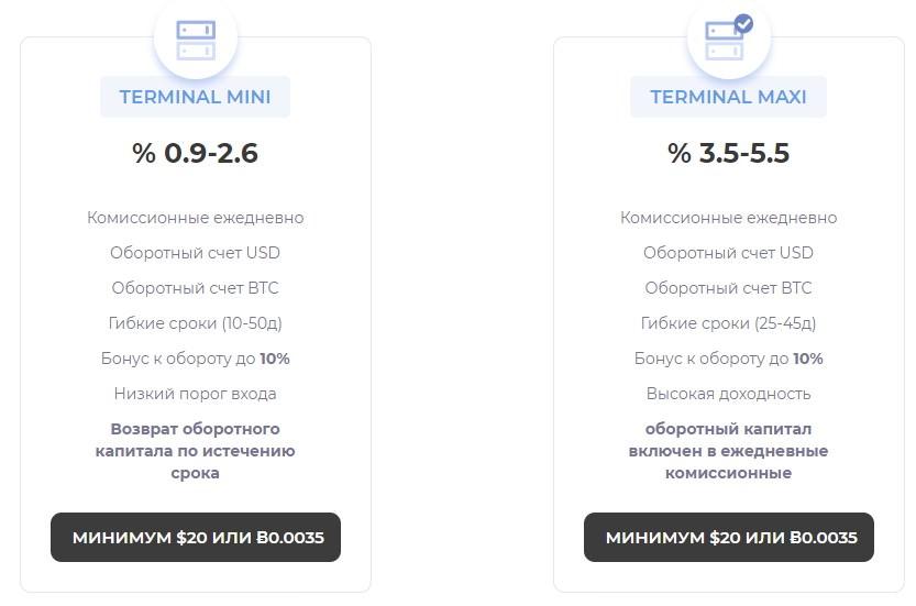 Coin Terminal инвестиции