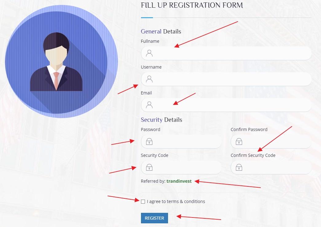 Oxbit регистрация