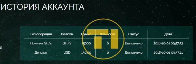 Onix депозит