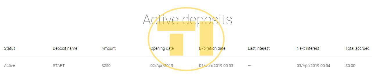 Paocard депозит