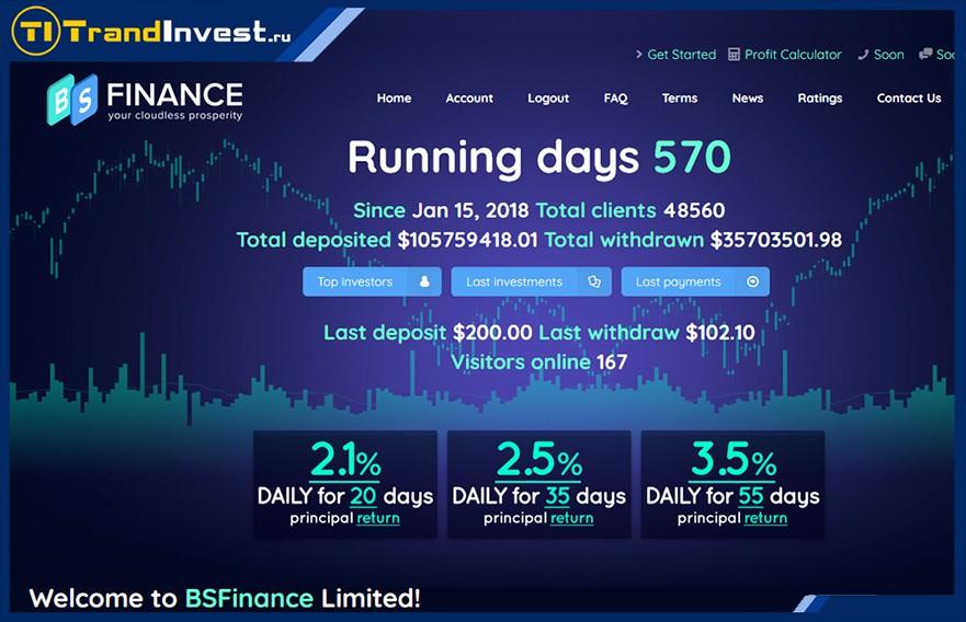 Bsfinance отзывы