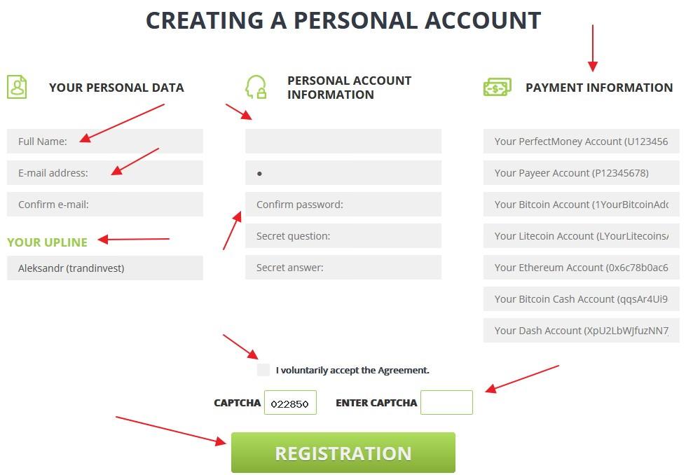 Yesss регистрация