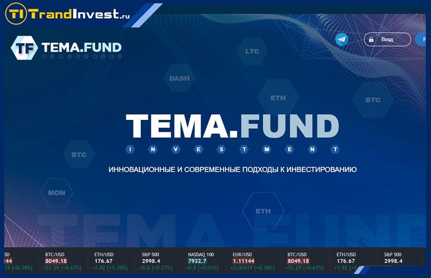 Tema fund отзывы