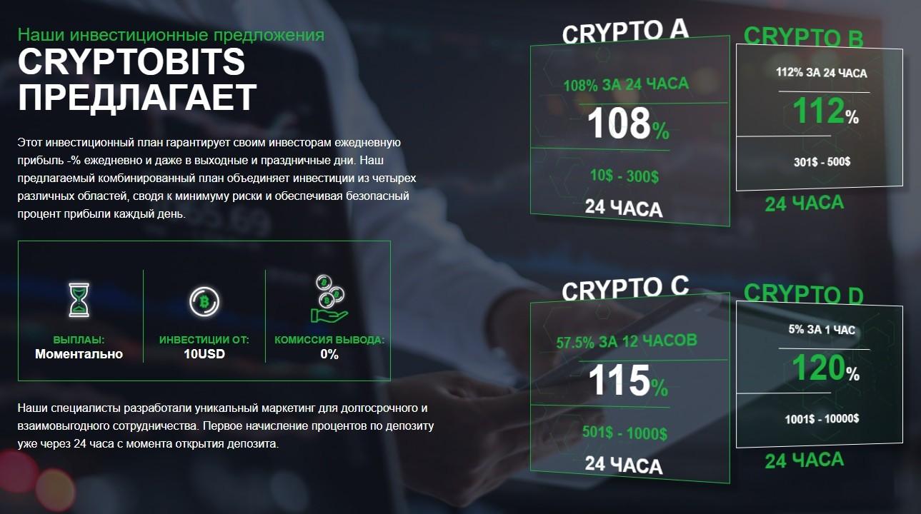 Cryptobits инвестиции