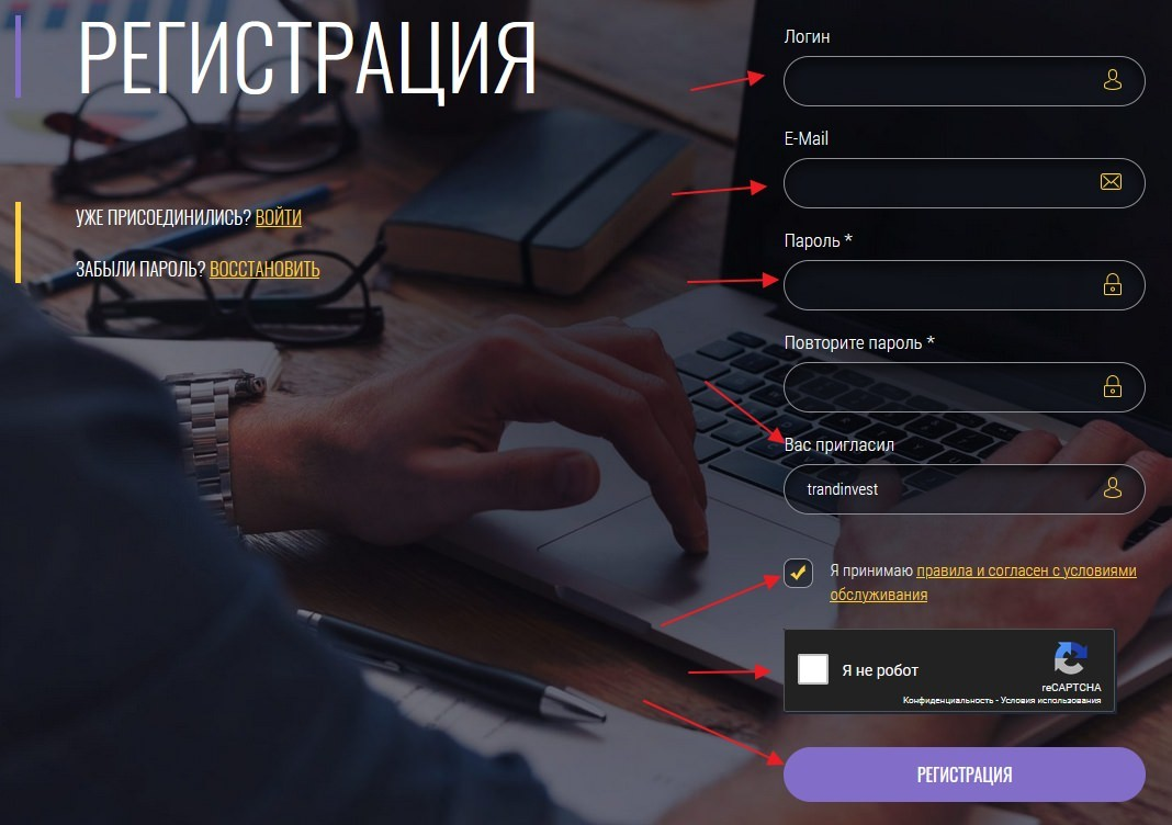 Nextinvest Group регистрация