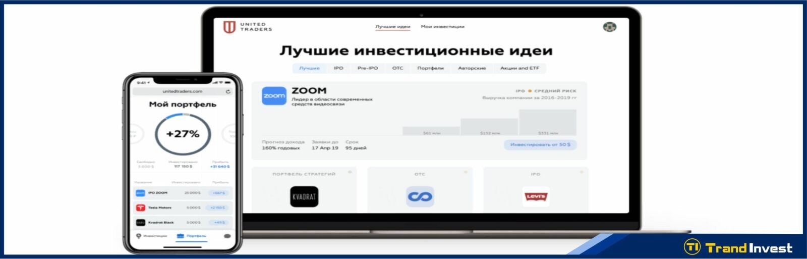 United Traders платформа