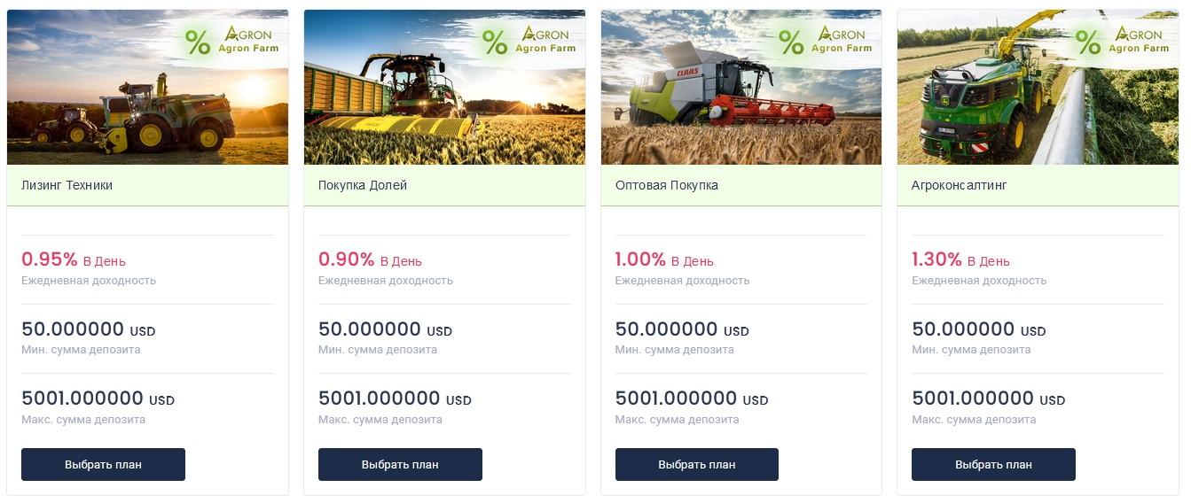 agron инвестиции